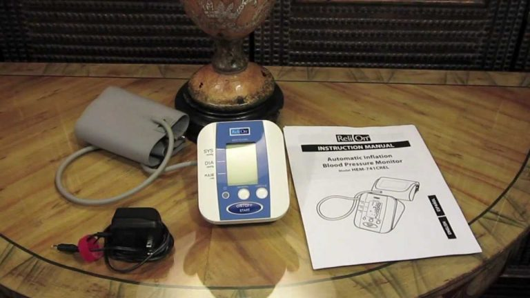 How to Read a Blood Pressure Cuff on Your Relion BP300?