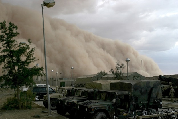 How To Drive through a Sand Storm